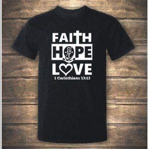 Faith Hope Love T-Shirts